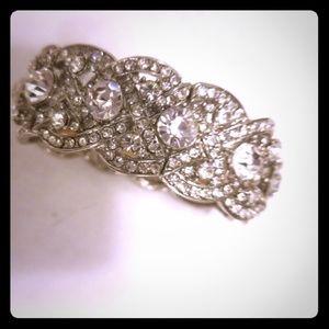 Jewelry - Vintage Rinstone Cuff